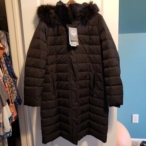 Land's End Luxe Down Coat